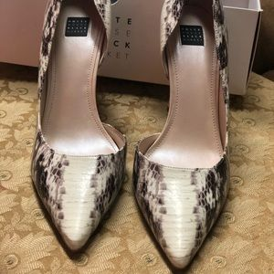 White House Black Market pointy Toe D' Orsay heels